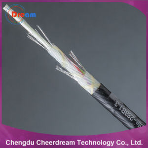 96 Core 6.1mm Diameter Air Blowing Optical Fiber Cable pictures & photos