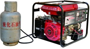 Open-Frame Type 3kw Gasoline LPG Gas Generator Bl5000pg pictures & photos