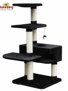 Sisal Wrapped Scratch Post Cat Scratching Tree for Toys (KG0004) pictures & photos