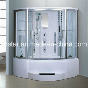 1500mm Sector Steam Sauna with Jacuzzi and Shower (AT-GT8227F) pictures & photos