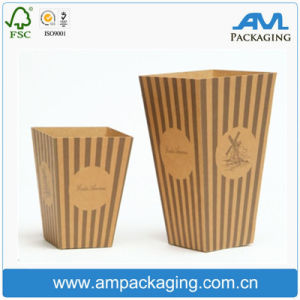 Food Grade Kraft Paper French Fries Box Product Packaging pictures & photos