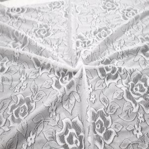 Highly Elastic Knitting Fabric Lace with 85%Nylon 15%Spandex pictures & photos