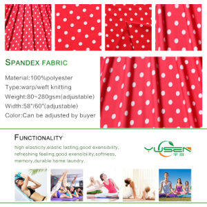 Polyester Spandex Fabric for Fitness Colorful Space Dye Fabricfor Yoga and Sportswear Wholesale pictures & photos
