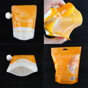 Hot Sale Plastic Liquid Spout Packaging Bag pictures & photos