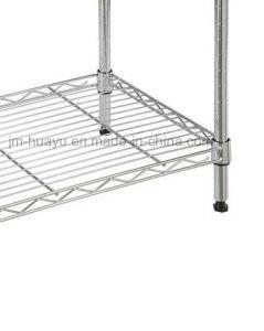 Kitchen Storage Shelf 5 Layer Light/ Heavy Duty Metal Steel Rack Steel Goods Storage Shelf pictures & photos