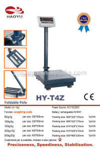 China Industrial Electronic Weighing Scale Platform Bench Scale 500kg pictures & photos