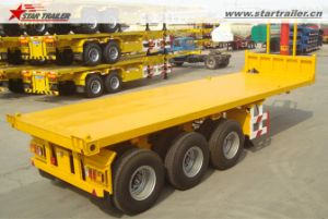 20FT 40FT Container Flatbed / Skeleton Dump Semi Trailer for Sale pictures & photos