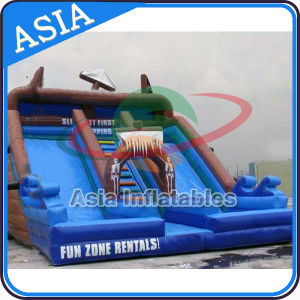Commercial PVC Vinyl Double Lane Kids Giant Inflatable Slide pictures & photos