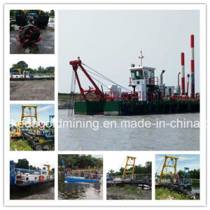 Hydraulic 18 Inch River Cutter Suction Dredger pictures & photos