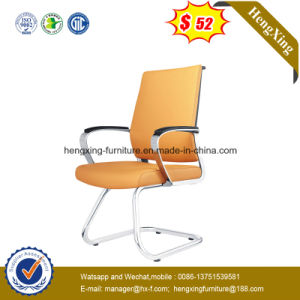 Conference Office Furniture Metal Structure Cow Leather Conference Chair (NS-6C076C) pictures & photos