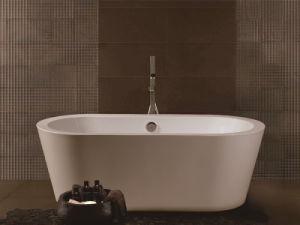 Onsen Acrylic Tub Freestanding Bathtub Simple Tub