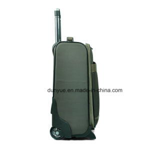 Promotional Customized Nylon Travel Trolley Bag/Suitcase, Hand Luggage Suitcase with Wheels pictures & photos