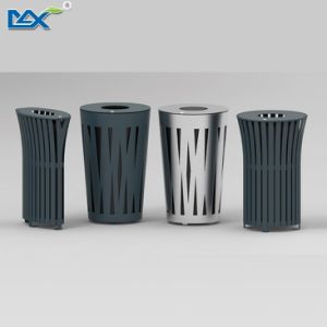 Stainless Steel Indoor Round Trash Bin pictures & photos