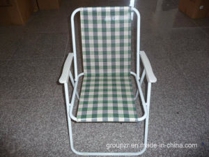Metal Folding Beach Chair pictures & photos