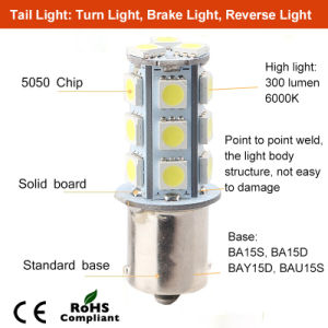 Aftermarket Refitting Car LED Lighting Ba15s Bay15D Auto LED Taillight pictures & photos