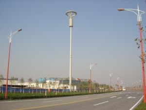 High Quality Hot DIP Galvanized Single Tube Telecom Steel Tower pictures & photos