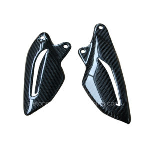 Carbon Fiber Motorbike Heel Plates for Triumph Street Triple 2013+ pictures & photos