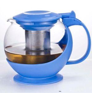 1200ml Cheap Pyrex Glass Teapot Wholesale Coffee Pot