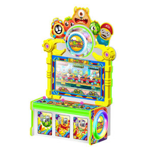 3 Players Toys Catching Children Amusement Lottery Game Machine for Playground and Arcade Video Game Center pictures & photos