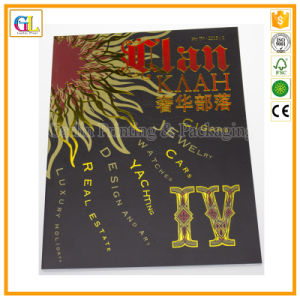 Luxury Pertfect Binding Magazine Printing with Cover Stamping pictures & photos