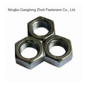 Staineless Steel DIN6915 Hexagon Head Hex Nuts pictures & photos