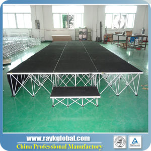 Plywood Stage Mobile Stage Smart Stage Portable School Stage pictures & photos