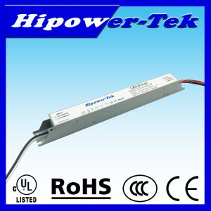 UL Listed 20W-60W Indoor Constant Current LED Driver Long Case pictures & photos