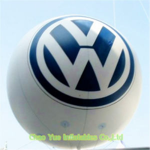 3m Colorful Inflatable Advertising Helium Balloon with Logo Printing pictures & photos