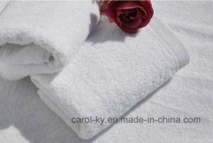 Plain White Hotel Textile Hotel Towel pictures & photos