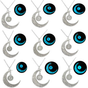 DIY Glowing Jewelry Gift Magice Moon Pendant Necklace Glow in The Dark pictures & photos