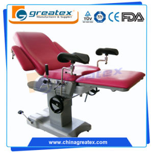High Quality Hot Sale Gynecology Examination Bed Electric Gynecology Chair pictures & photos