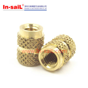 2016 Wholesale Brass Knurled Nut Insert Manufacturer China Supplier pictures & photos