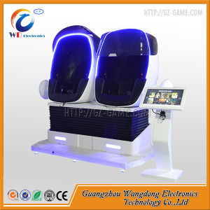 Interesting Interactive Electric Platform 9d Virtual Reality Simulatoir Egg Cinema pictures & photos