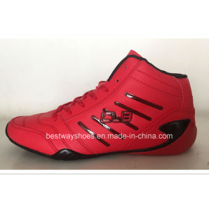 Middle Cut Shoes Sports Shoes for Men pictures & photos