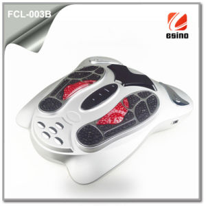 Electromagnetic Wave Impulse Foot Massager (FCL-003B) with Electronic Pads & Remote Control