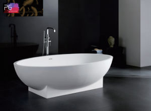 Unique Design Solid Surface Natural Stone Bathtub for Sale pictures & photos