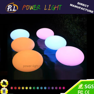 Christmas Light PE Material LED Flat Ball pictures & photos
