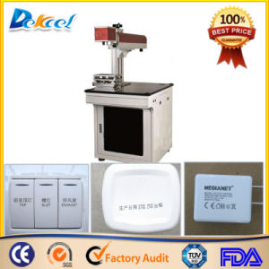Fiber Laser Marking CNC Router Machine for ABS Material pictures & photos