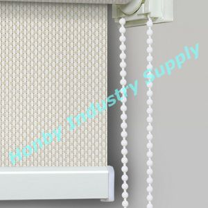 4.5mm X 6mm White Color Plastic Bead Chain Vertical Blind