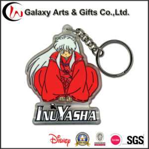 Acrylic Cheap Custom Printed Keychain with Logo and Printing pictures & photos