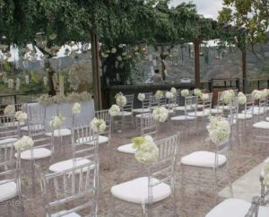 Transparent Clear&Metal Tiffany Chair Wedding Event Use pictures & photos