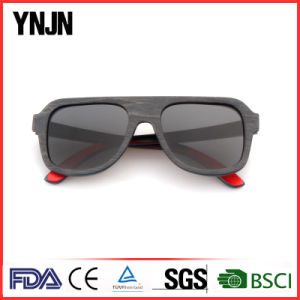 High End Unisex Black Polarized Sun Glasses Wood (YJ-MB180) pictures & photos