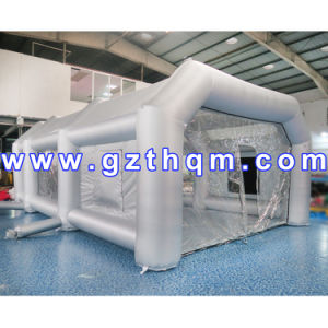 Outdoor Using Quality Inflatable Spray Booth/Customized Inflatable Spray Paint Tent for Car pictures & photos