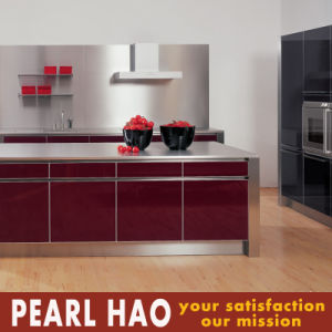 Modular High Gloss Lacquer Kitchen Furniture Design Cabinet pictures & photos