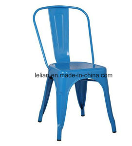 Bistro Iron Indoor-Outdoor Stackable Metal Chair (LL-0071) pictures & photos