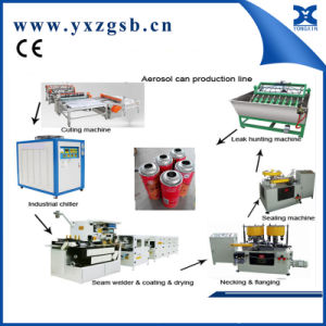 Automatic Aerosol Spray Tin Canning Making Machines Production Line pictures & photos