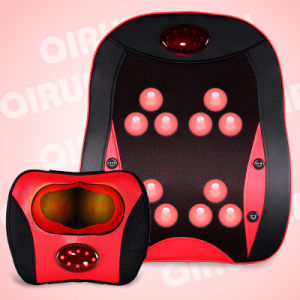 Heating Shiatsu Back Massager, Neck and Back Massage Cushion pictures & photos