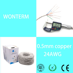 LAN Cable/Network/Cat 5e Cable in CCA (salable) pictures & photos