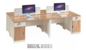 Modern Office Workstation Partition Staff Computer Desk pictures & photos