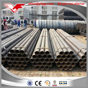 Hot Sale ASTM A53 Gr. B Sch40 Black ERW Carbon Steel Pipe pictures & photos